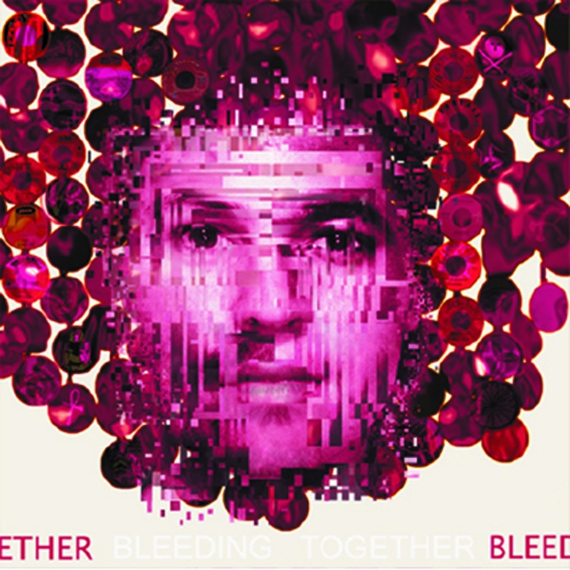 """The cover of the dissent album """"Bleeding Together."""""""
