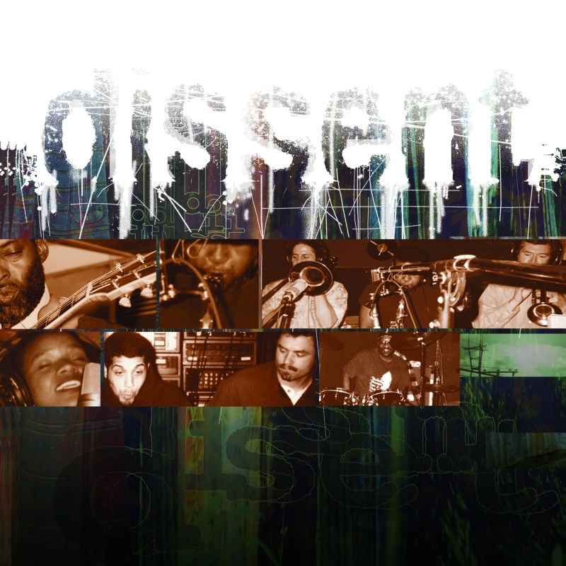 """The cover of the album """"dissent"""" by """"dissent."""""""