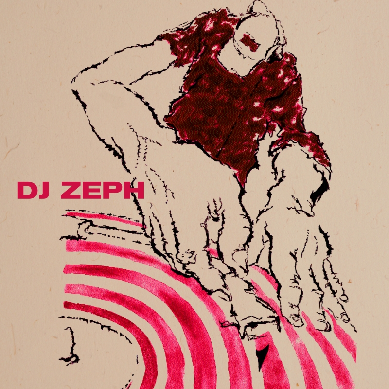 """Cover of the Wide Hive release """"DJ Zeph"""""""