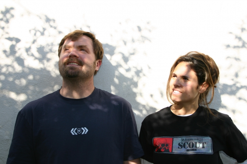 Gregory Howe and Nathalie Sanchez.
