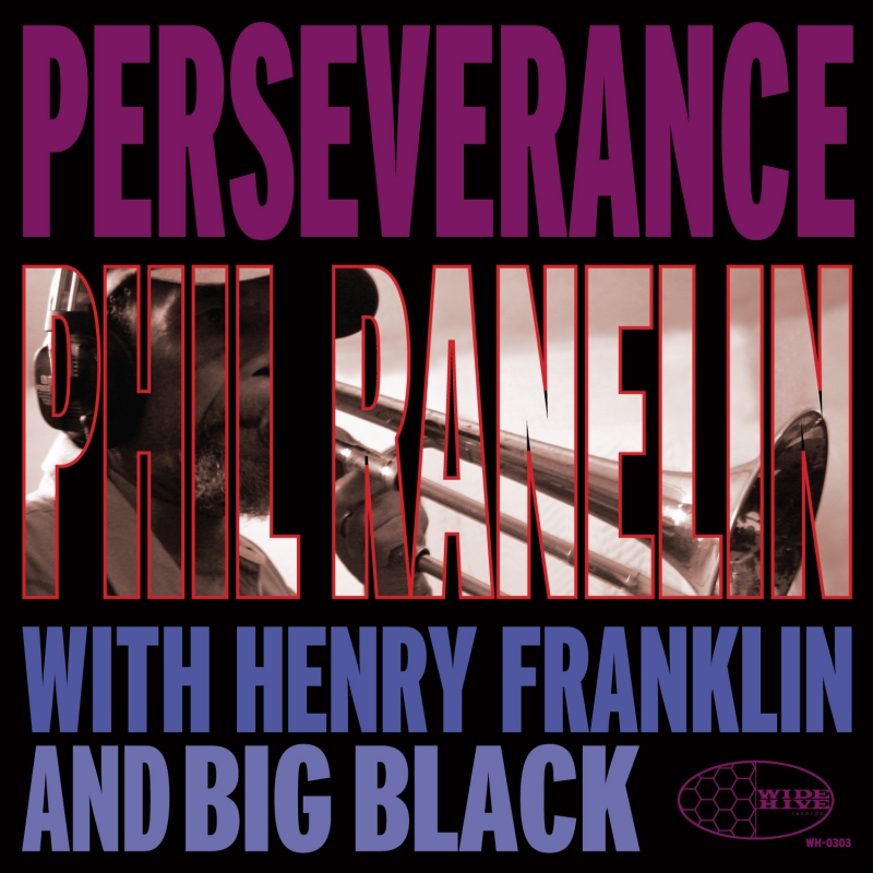 A photo of the cover of the Wide HIve release, Perseverence by Phil Ranelin.