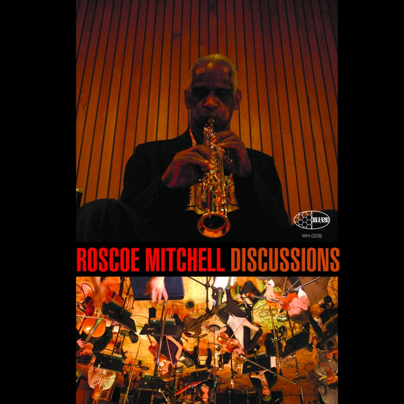 """A picture of the cover of Roscoe Mitchell's """"Discussions."""""""
