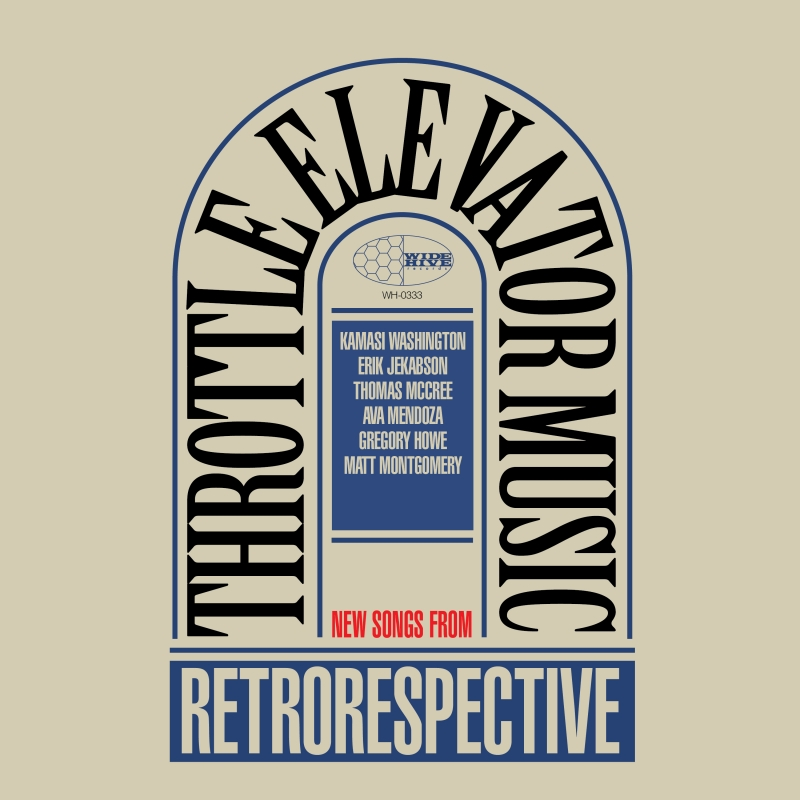 """A picture of the album cover for """"Throttle Elevator Music: Retrorespective."""""""
