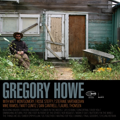 """A picture of the cover of the record album """"Gregory Howe."""""""