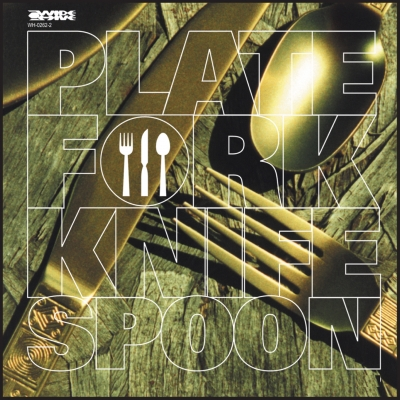 A picture of the album cover for Plate Fork Knife Spoon
