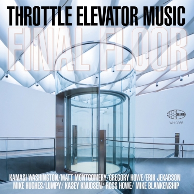 """A picture of the cover of """"Final Floor"""" by Throttle Elevator Music Featuring Kamasi Washington"""