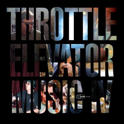"""A picture of the album cover for """"Throttle Elevator Music."""""""